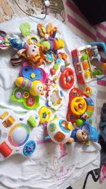 Huge bundle vtech lamaze baby toys collect nw101hr