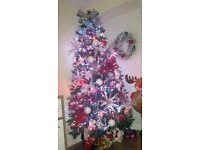 Green 7ft Christmas tree