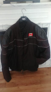 Men's XXL summer/fall  Motorcycle Jacket with removable Liner