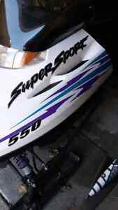 2000 polaris supersport excellent shape