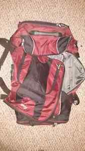 Roots wheel duffle bag luggage