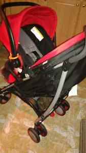 Excellent condition 3 in 1 infant car seat , stroller and base