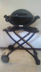 Webber Electric Portable BBQ Grill