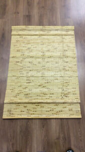Pair of Bamboo Blinds (each 36 in x 52 in)