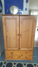 Pine wardrobe drawers