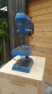 Vintage Heavy-Duty Canadian-Made Drill Press