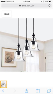 Brand New JoJo Spring Farmhouse Hanging Chandelier