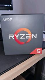 Ryzen 5 1600 with cooler