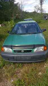 Toyota Tercel Combo! Great Package For Handy Mechanic