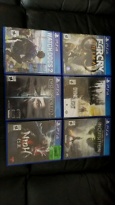 PS4 Games - Great Prices