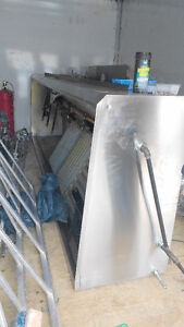 Stainless Steel Exhaust Hood, Built-in Returns, Fire Suppression Cambridge Kitchener Area image 2