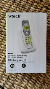 BRAND NEW VTECH CORDLESS PHONE WITH CALLER ID $14.99