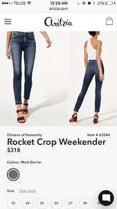 CITIZENS OF HUMANITY ROCKET-ARITZIA