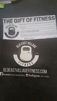 Old East Village Fitness Gift Certificate