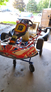 2010 birel am 29 go kart need gone will part out everything come