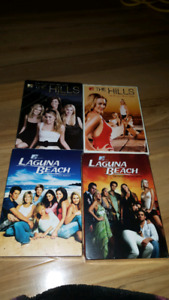 The Hills and Laguna Beach (seasons 1 and 2 for both)