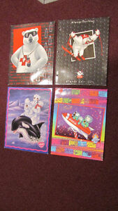Lot of 4 Coca-Cola pocket folders