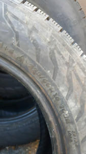 4 Winter Tires for Sale- 225/60/16