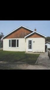 3 bedroom house for rent in Atikokan. Available May 1st.