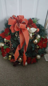 "Christmas Wreath - measures 27"" across"