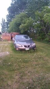 2004 Pontiac Grand Prix parts car