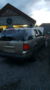 2003 ford explorer RUNS AND DRIVES NOW