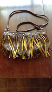 Womens leather purses.
