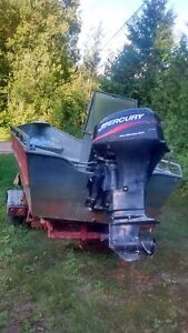 Boat and Motor for sale with trailer