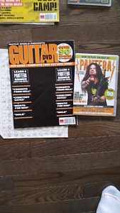 Guitar tab books with DVD