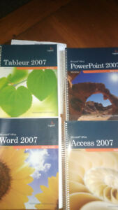 Livres office 2007 word,excel,powerpoint,access