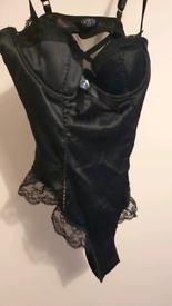 Black bodysuit lingerie
