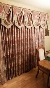 Full Drapes with Valances