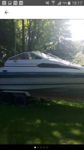 21 foot Bayliner with mercruiser 3.0 and rebuilt sterndrive