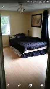 Large bright room with  en suite