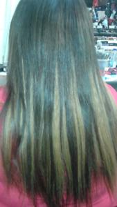 Pose rallonge cheveux