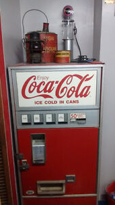 Coca-Cola machine (negotiable)