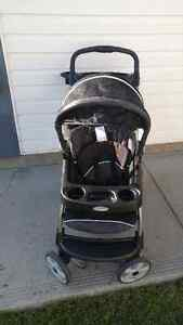 Graco Ready2Grow Stand and Ride Double Stroller - Classic Duo