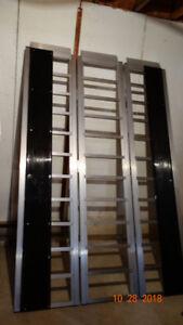 rampe de chargemeht cote a cote skidoo 4 roue
