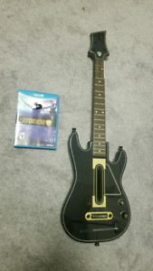 Guitar Hero Live Guitar and Game for Wii U