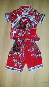 Chinese Costume Outfits for Up to 2 Years Old