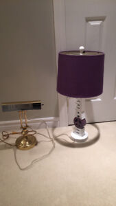 Room and piano Lamps