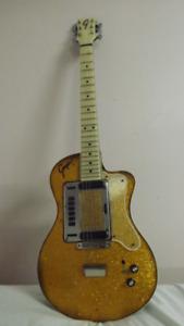 RARE ! Guitare Vintage GOYA Hagstrom SPARKLE GOLD