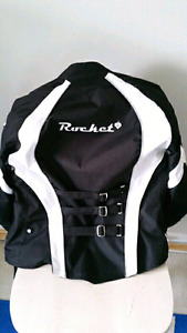 Woman's small kevlar & leather riding jacket!!! Like New!!!