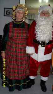 santa & mrs. clause costumes