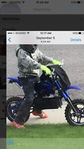 Stolen gio electric kids motorcycle