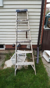 step ladder dirty but Solid 40.00