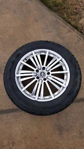 Excellent Winter Tires & Rims (225/60r18)