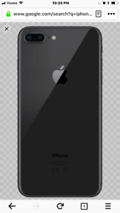 Unlocked iPhone 8 Plus 256 with case and original box