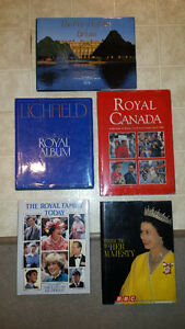 Set of Royal Family books and Castle Brochures
