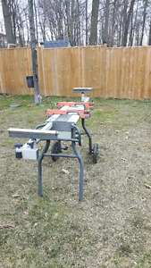 Adjustable Mitre Saw Bench